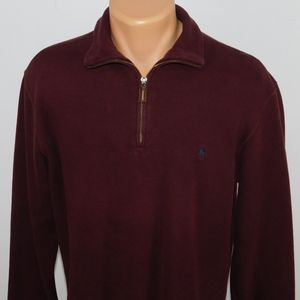 Polo Ralph Lauren 1/4 zip pullover sweater. M